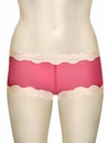 Mary Green Silk Gauze Hip Hugger Boyshort LT8 - Red / Crmpuff