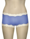 Mary Green Silk Knit With Lace Hip Hugger Boyshort LL3 - Fr Blu/Crystal