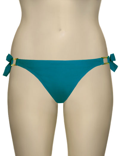 Miss Mandalay Boudoir Beach Tieside Brief BOU03TTS - Turquoise