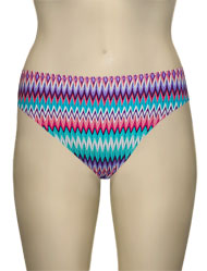 Miss Mandalay Gold Coast Bikini Brief GOL02TPBB - Mint Print
