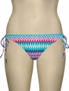 Miss Mandalay Gold Coast Tieside Brief GOL03TPTS - Mint Print