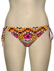 Miss Mandalay Ibiza Tieside Brief IB03TTS - Pink Print