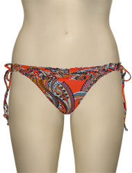 Miss Mandalay India Tieside Brief IND03OPTS - Orange Print