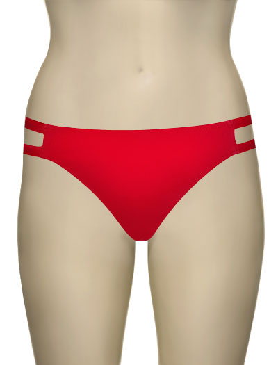 Miss Mandalay Los Angeles Bikini Brief LOS4RBB - Red