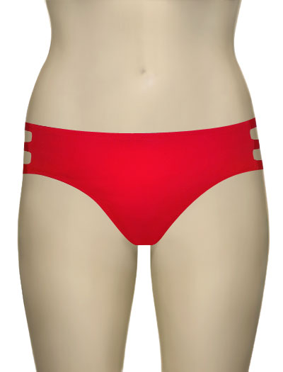 Miss Mandalay Los Angeles Deep Brief LOS02RDB - Red