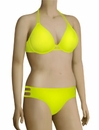 Miss Mandalay Los Angeles Underwire Halter Bikini Top LOS01YUH - Yellow