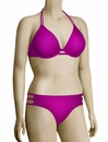 Miss Mandalay Los Angeles Underwire Halter Bikini Top LOS01MHP - Magenta
