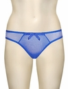 Miss Mandalay Paris Ruche Back Brief PA03UBBF - Cobalt Blue