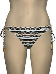 Miss Mandalay Twiga Tieside Brief TWI03BRTS - Brown Knit