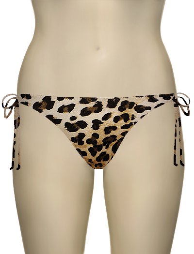 Miss Mandalay Vegas Baby Tie Brief VB03ATS - Animal Print