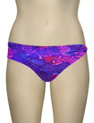 Miss Mandalay Venom Bikini Brief VEN03SBB - Neon Snake