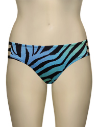 Miss Mandalay Zambia Deep Brief ZAM03BDB - Blue Zebra