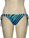 Miss Mandalay Zambia Tieside Brief ZAM02BTS - Blue Zebra