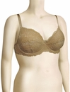 Montelle Intimates Noblesse Full Cup Lace Bra 9022 - Nude