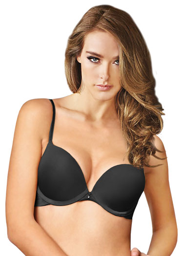 Montelle Intimates Prodigy Ultimate Push Up Bra 9015 - Black