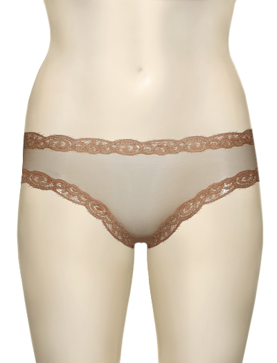 Natori Sheer Scroll Femme Pant 153040 - Cafe
