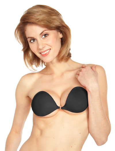 NuBra Feather Lite Adhesive Bra F700 - Black