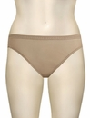 OnGossamer Mesh Hi-Cut Brief 3012 - Skin