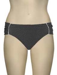 Panache Britt Gather Bikini Pant SW0829 - Black Spot