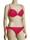 Panache Cleo Dolly Underwire Padded Plunge Bikini Top CW0024 - Strawberry