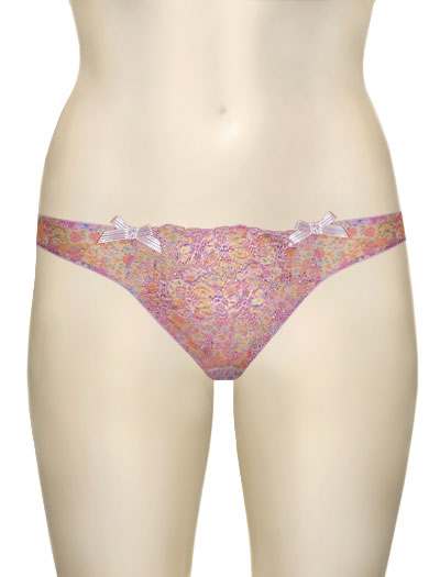 Panache Cleo Frances Thong 5719 - Lilac Multi