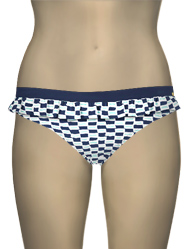 Panache Cleo Lucille Frill Pant CW0067 - Nautical Print