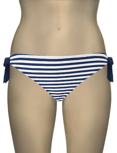 Panache Cleo Lucille Tie Side Pant CW0068 - Nautical Print