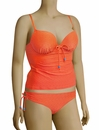 Panache Cleo Matilda Underwire Tankini Top CW0081 - Orange