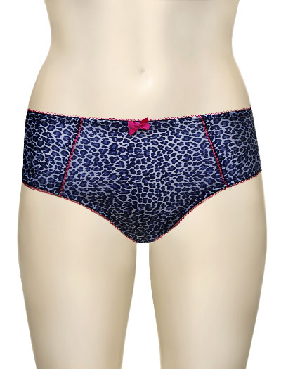 Panache Cleo Mimi Brief 8092 - Blue Animal