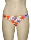 Panache Cleo Poppy Thong 6449 - Orange Floral
