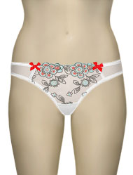 Panache Cleo Sally Thong 6229 - White / Multi