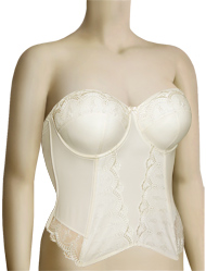 Panache Evie Bridal Basque 6117 - Ivory