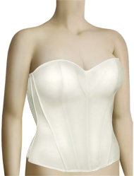 Panache Harlequin Tiffany Basque 5437 - Ivory