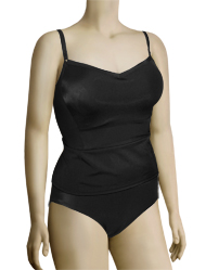 Panache Isobel Underwire Tankini Top SW0761 - Black