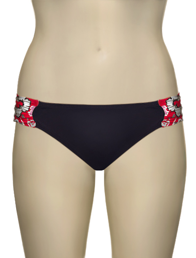 Panache Loren Gathered Pant SW0514 - Red Floral