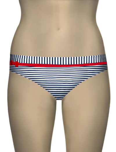 Panache Lucille Classic Pant SW0561 - Navy / White