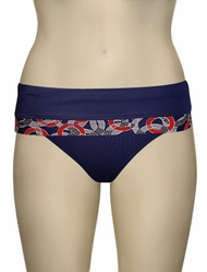 Panache Nancy Folded Pant SW0777 - Nautical Print