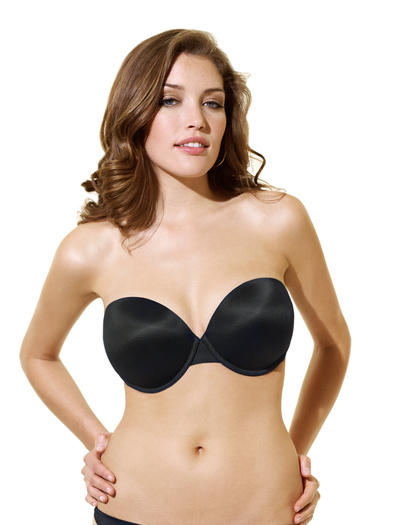 Panache Porcelain Moulded Strapless Bra 3370 - Black