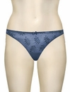 Panache Superbra Tango II Thong 3257 - Baltic Blue
