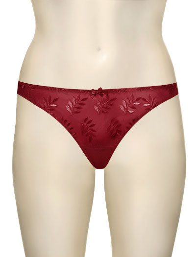 Panache Superbra Tango II Thong 3257 - Cherry Red
