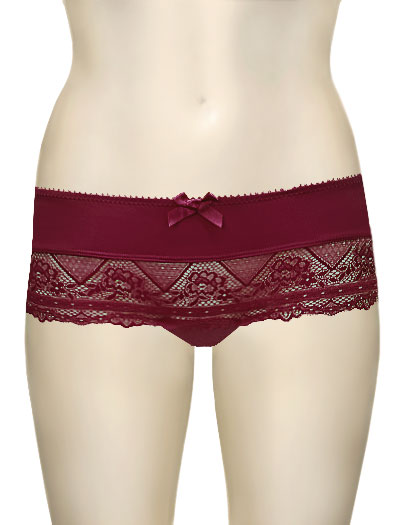 Parfait Casey Boyshort 2805 - Ruby Wine