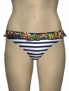 Pureda Milly Stripe Classic Bikini Brief PSB1F - Navy / White