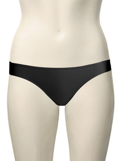 Ritratti Sensation Skin Cut Thong 1353 - Black