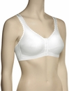 Royce 'Comfi-Bra' Front Closure Soft Cup Bra 1010 - White