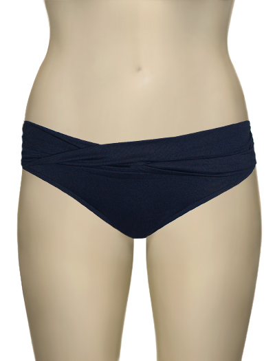 Seafolly Goddess Twist Band Hipster Bottom S4320-065 - Indigo