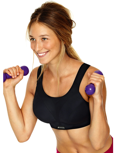 Shock Absorber D+ Max Support Sports Bra N109 - Black
