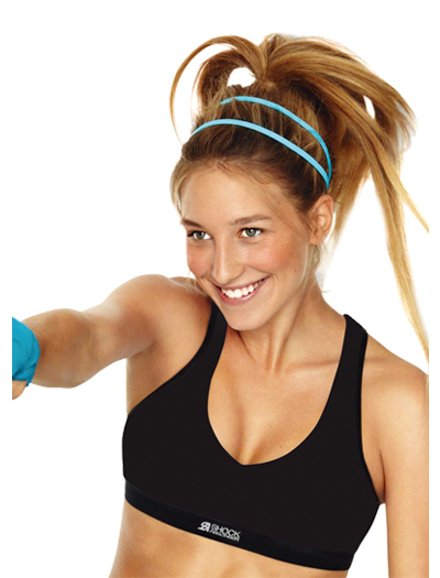 Shock Absorber Pump Sports Bra Top N4246 - Black