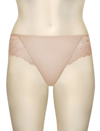 Simone Perele Caressence Bikini Brief 12J720 - Peau Rose