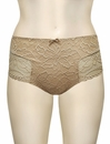 Simone Perele Eden High Waist Brief 12E770 - Peau Rose