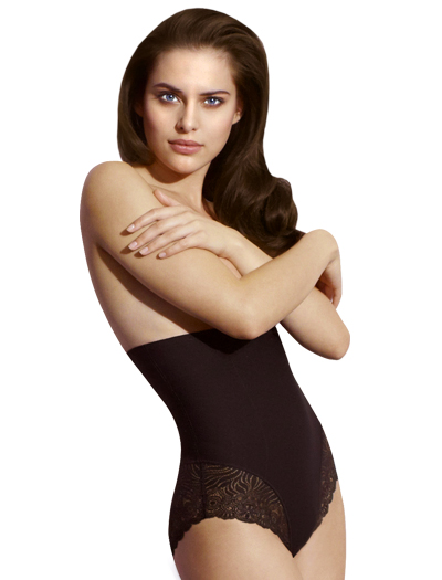 Simone Perele Top Model High Waist Brief 16R774 - Black
